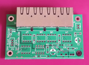 Quad DMX Splitter PCB