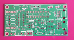 Prototype Dual Pixel Bridge PCB